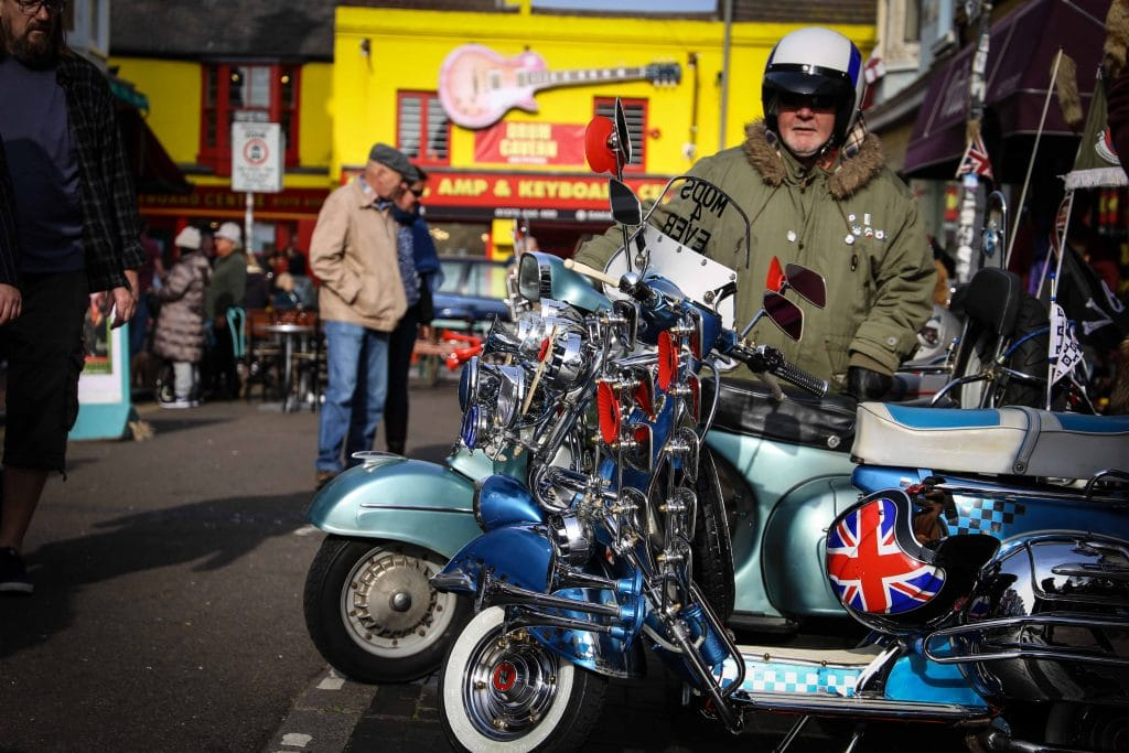 Brighton resident in the North Laine - Things to do in Brighton