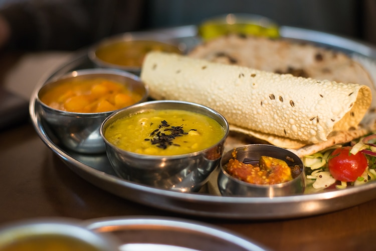 Indian Summer, Thali, Review, Restaurant, Brighton