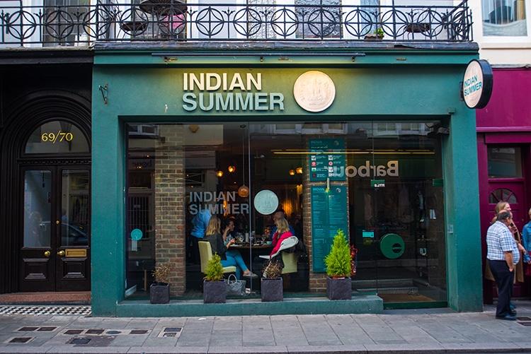 Indian Summer Restaurant In Brighton
