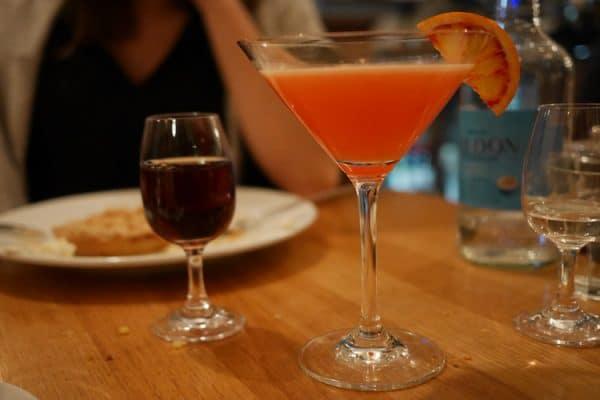 dessert drinks at semolina