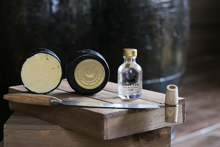 Great British Chacuterie, Black Cow vodka & cheese, Brighton Marina