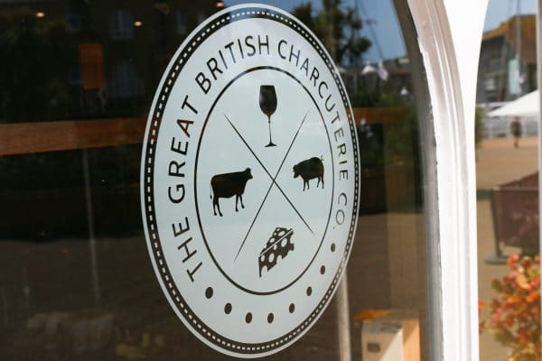 Great British Charcuterie signage