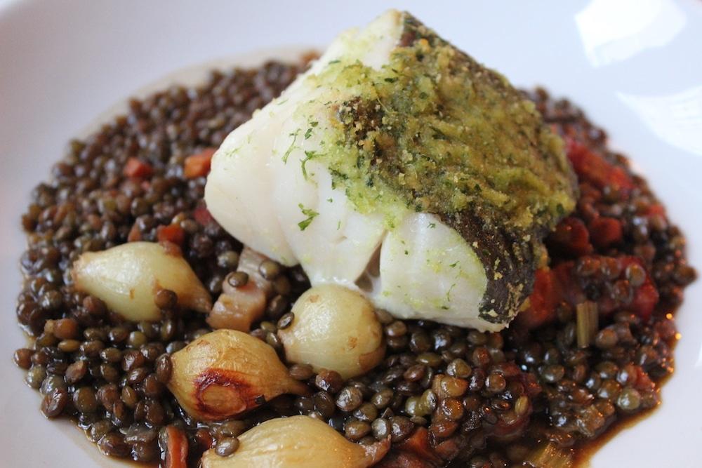 Fish dish at Hotel du Vin in Brighton
