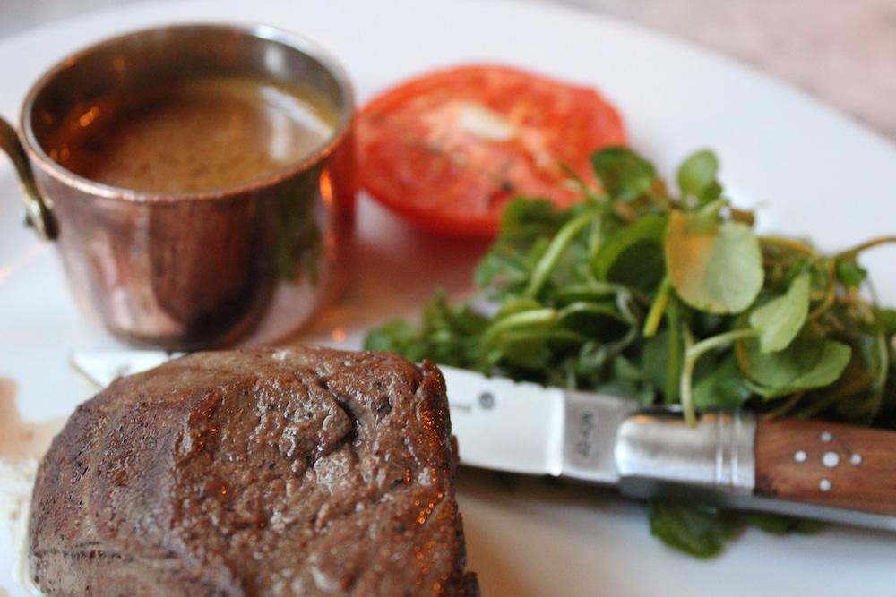 Steak at Hotel du Vin in Brighton