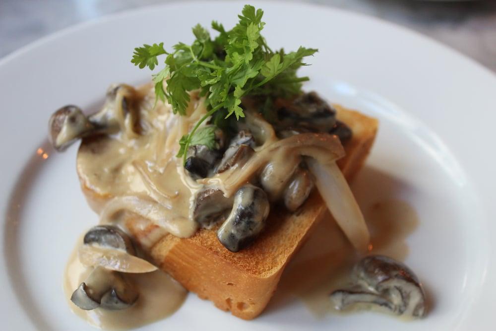 Mushrooms on Toast at Hotel du Vin in Brighton