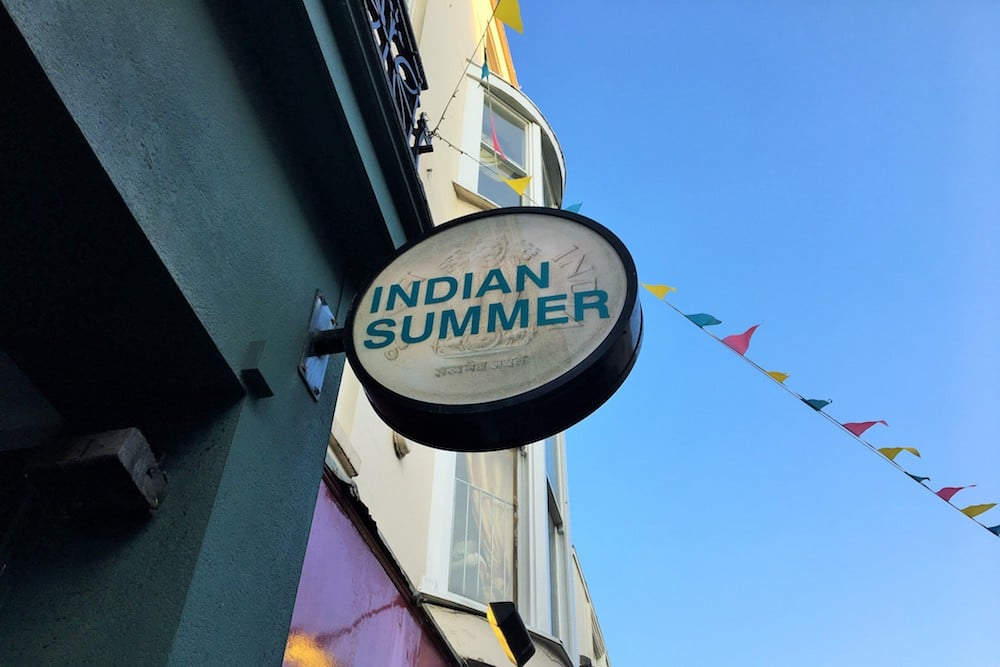 Indian summer Brighton