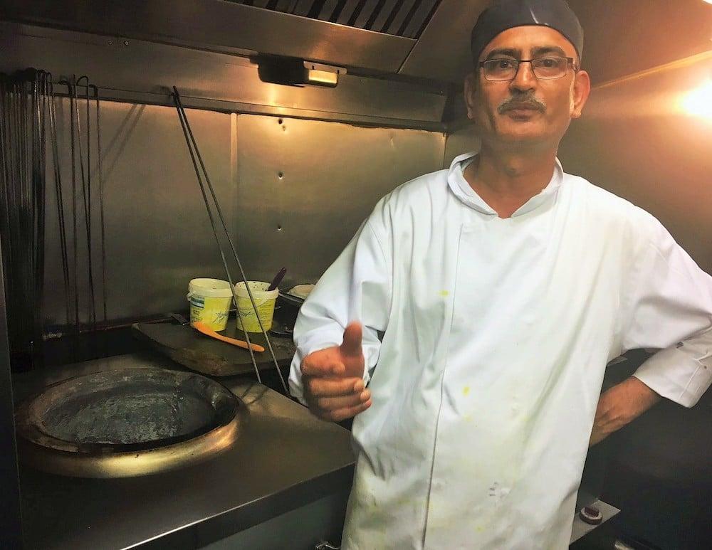 Indian summer chef Brighton