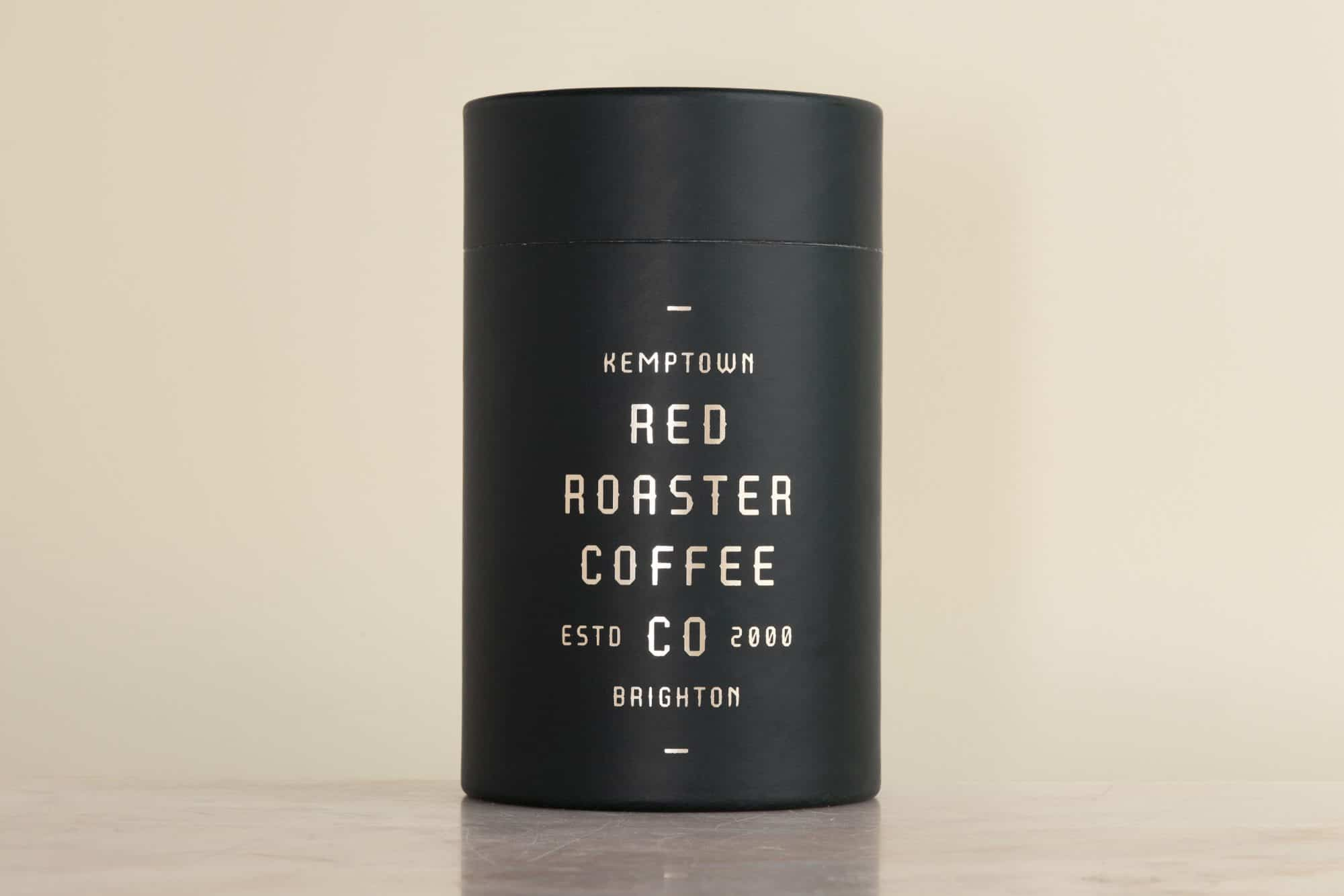 Red Roaster Coffee Co - Botanical Punk Coffee Beans Packaging, Kemptown, Brighton