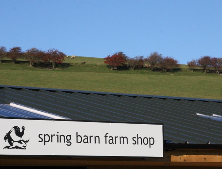 Spring Barn Farm Shop, Sussex food & produce