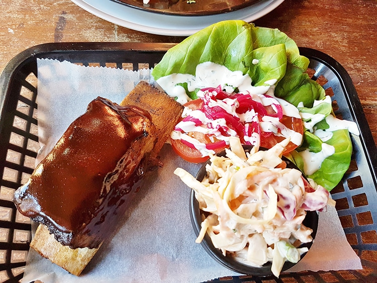 Weber Ribs, The Revelator, Brighton, Food Pub
