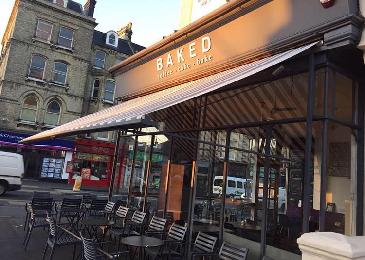Baked, Hove cafe, vegan breakfast, Brighton