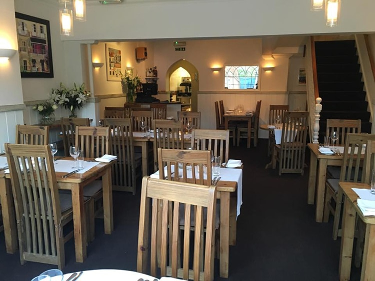 Best Restaurants in Sussex, tables and chairs at The Fig Tree