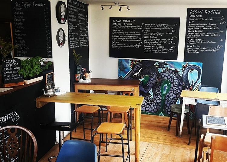 The Coffee Counter, Vegan Breakfast, Brighton cafe