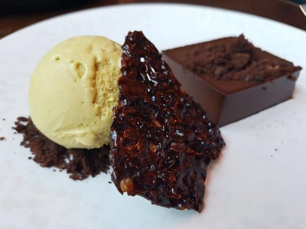 Bitter chocolate Pave at The Coal Shed Brighton