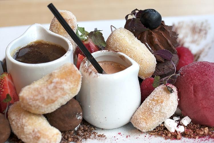 Terre à Terre, Vegan review, chocolate sharing dessert, vegetarian restaurant, Brighton