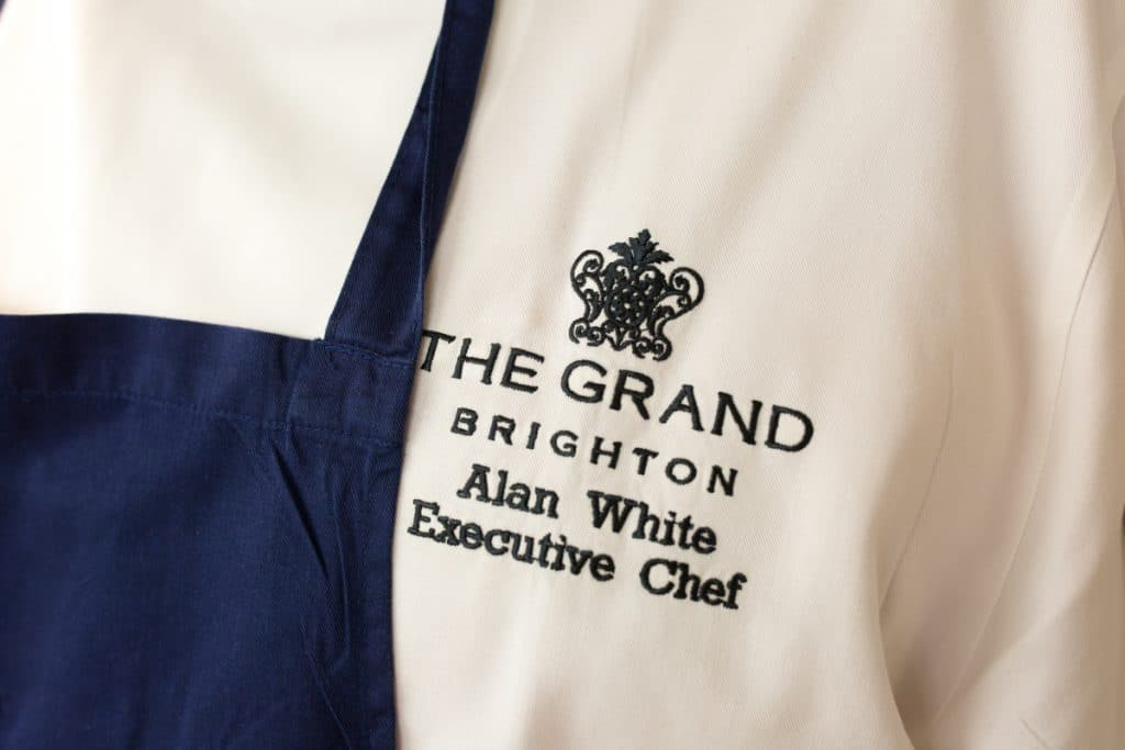 Alan White Executive Chef - Grand Hotel Brighton