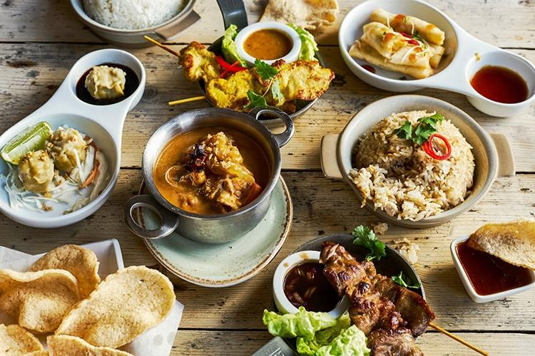 Giggling Squid Small Plates, Brighton restaurant, Thai food, sharing