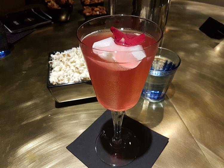 Merkaba, Sparkling Hibiscus, cocktail bar, Brighton, drinks
