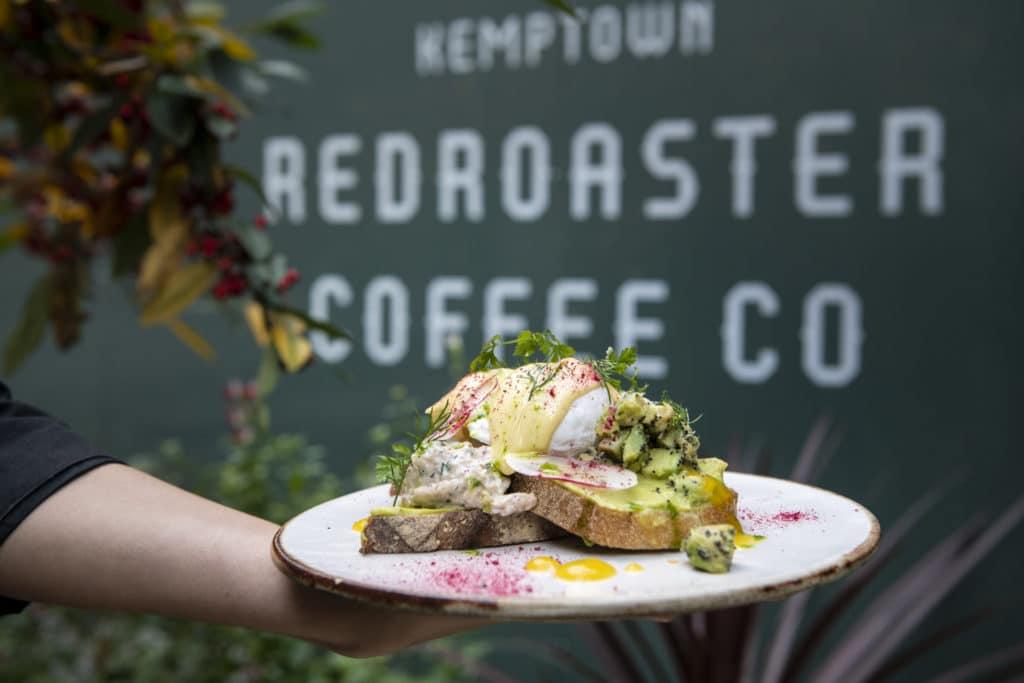 Delicious brunch at Redroaster