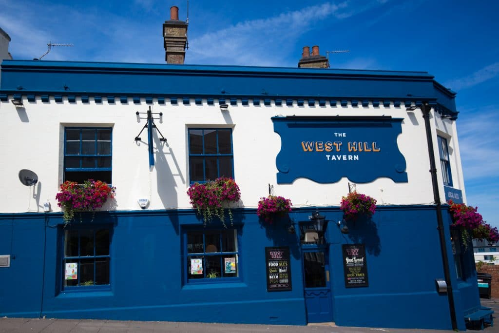 The West Hill exterior - Best Sunday Roast Brighton