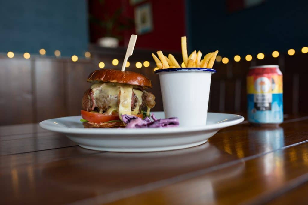 Burger at The West Hill Tavern, Where to eat Brighton