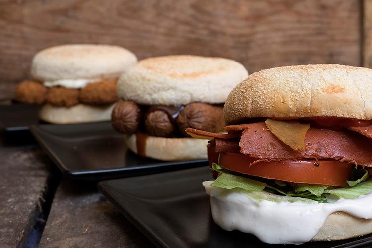 VBites savoury muffin range, vegan cafe, Brighton, The Lanes, breakfast, lunch