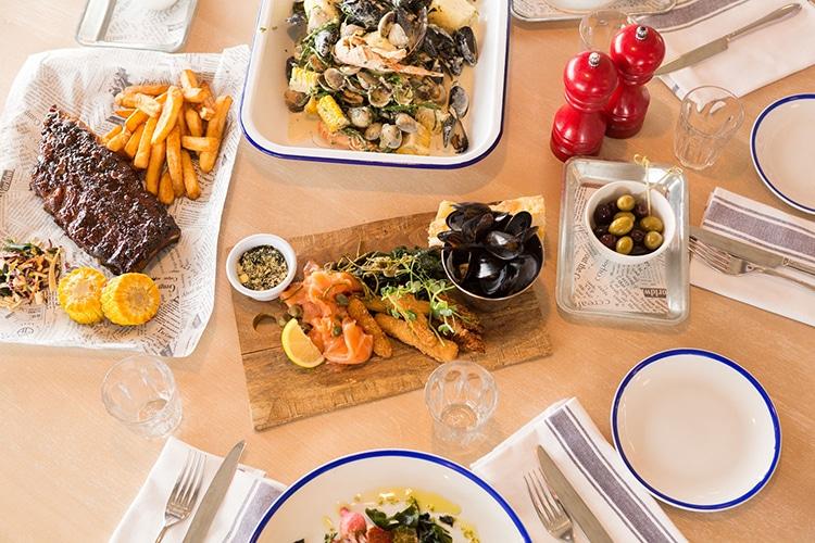 West Beach Bar & Kitchen food