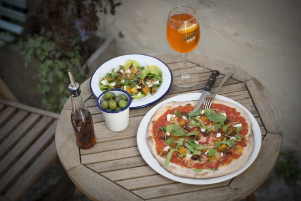 Brunch Pizza at The West Hill Tavern
