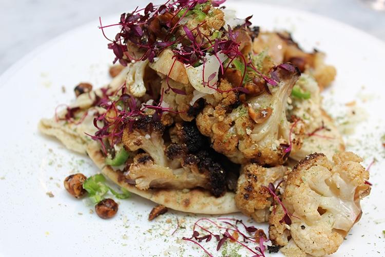 brunch review, cauliflower, Kemptown, Red Roaster, Brighton, cafe