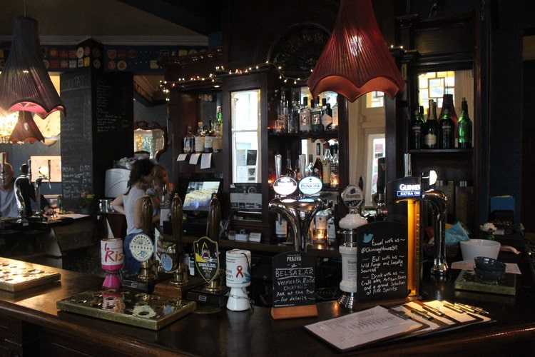 bar at the chimney house, Brighton Pub