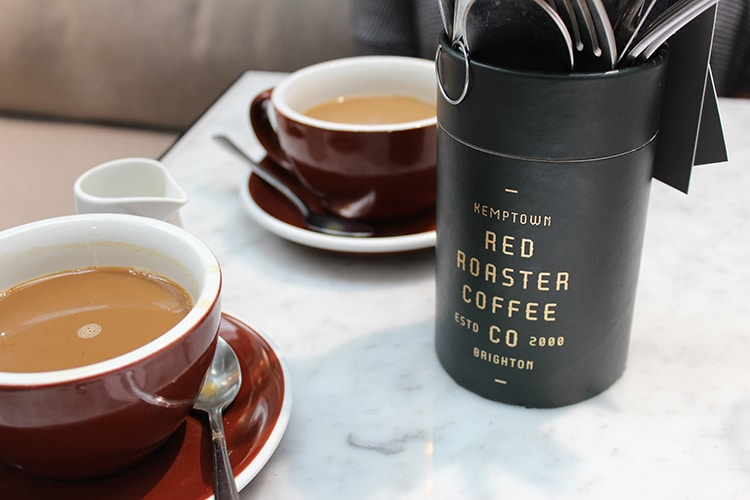 coffee, Red Roaster, brunch review, Brighton