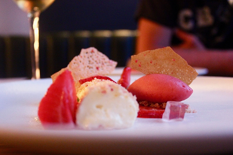 dessert, evening review, Hove, fine dining, restaurant, Etch