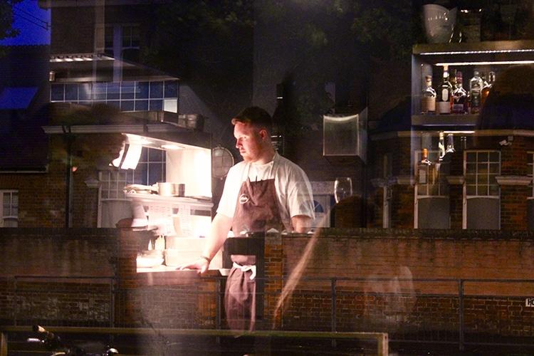 chef, kitchen, Hove, restaurant, Etch