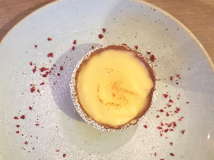dessert, dinner review, The Jetty, Brighton restaurant, Lemon Tart