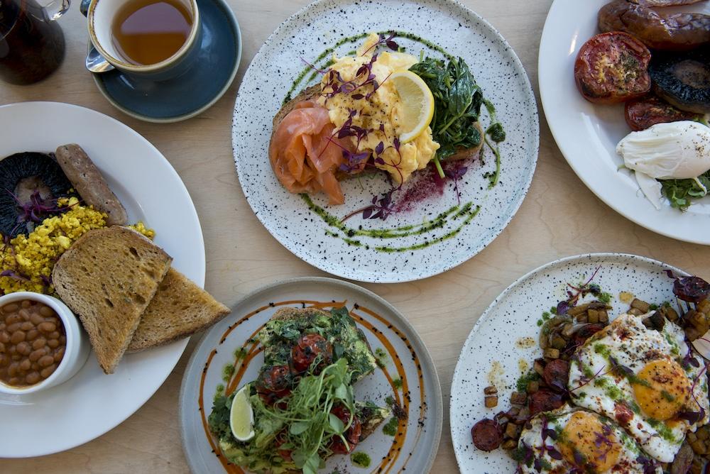 Food at Starfish and Coffee Brighton