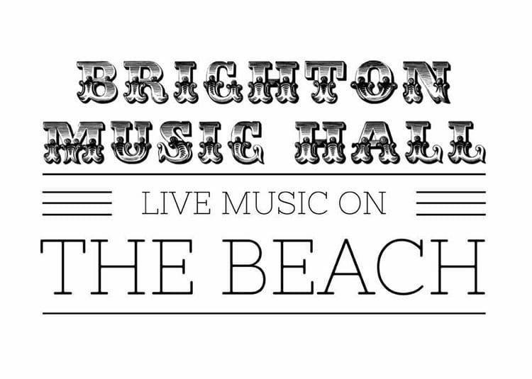Restaurants with Entertainment, logo for Brighton Music Hall