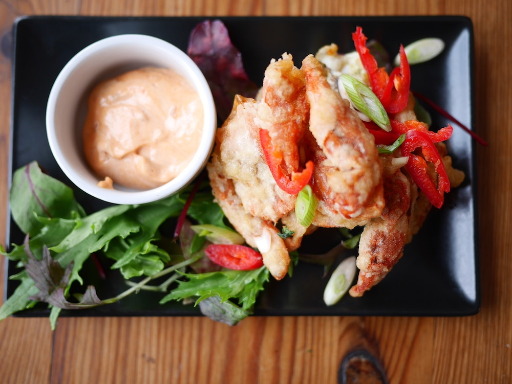 Crab at The Copper Clam in Brighton - Copper Clam Brighton Review