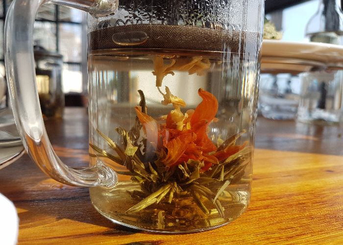 Flowering Tea at The Salt Room Brighton