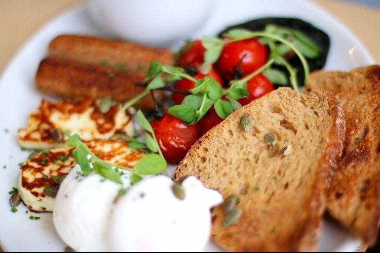 Vegetarian Brunch at Starfish and Coffee, Brighton