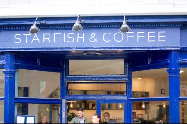 Exterior at Starfish and Coffee, Brighton