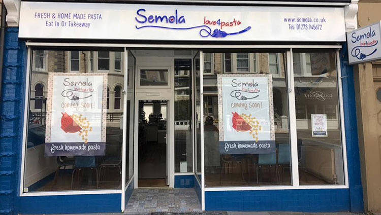 street view of the restaurant, Semola Hove - Semola Restaurant Hove