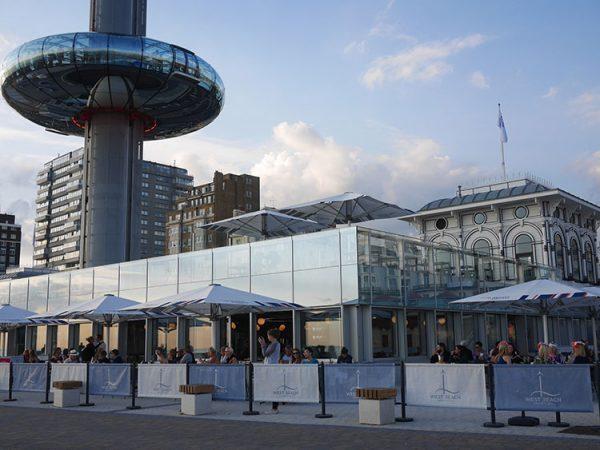i360 West Beach Bar & Kitchen Best Tea and Cake Brighton restaurant awards BRAVO Graduation Brighton