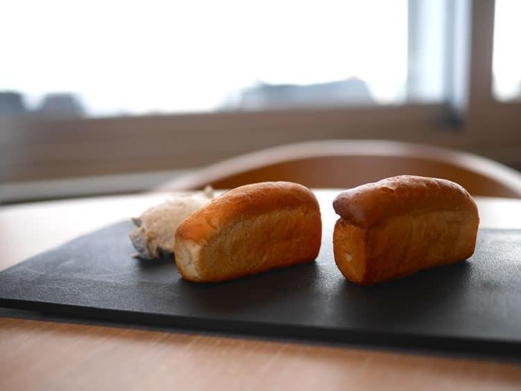 mini bread starter at West Beach Bar & Kitchen, Brighton