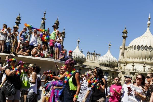 Brighton Theatre, Brighton Pride Parade