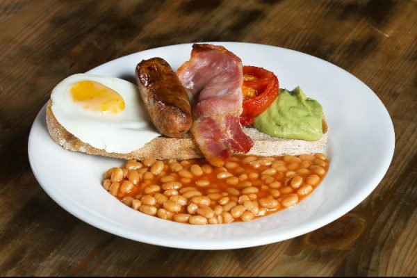 Full English at Grow 40
