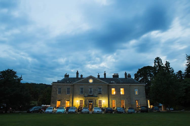 Dusk at Proud Country House, Stanmer