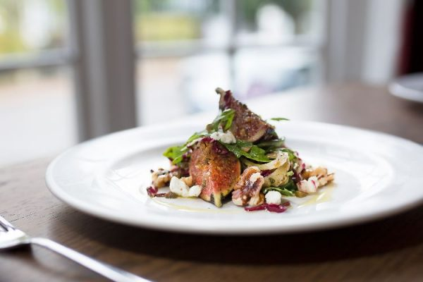 Fig and Walnut salad at Limes of Lindfield