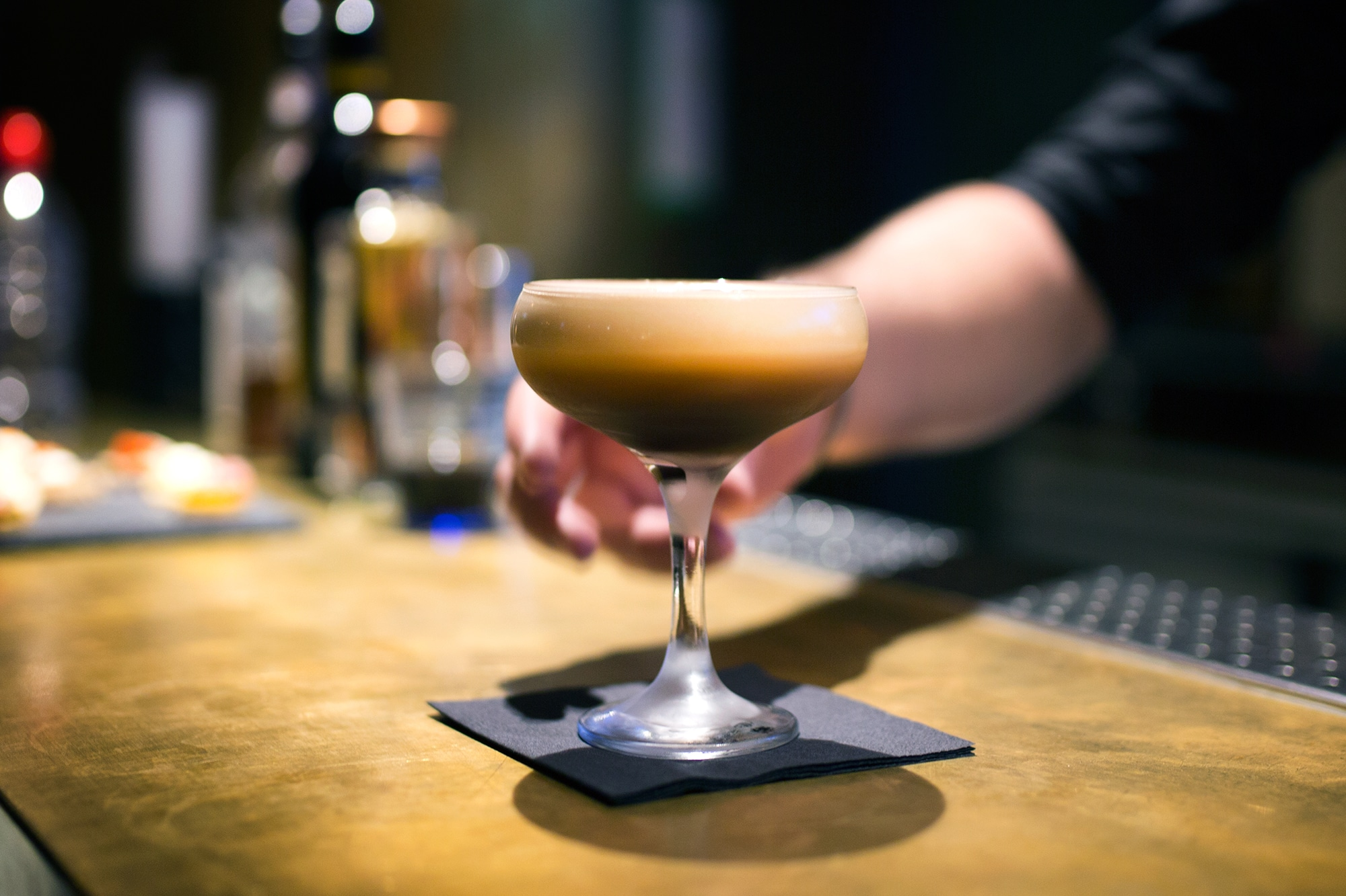 espresso martini at merkaba