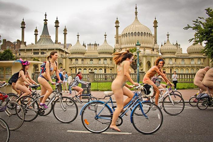 Naked Bike Ride Brighton