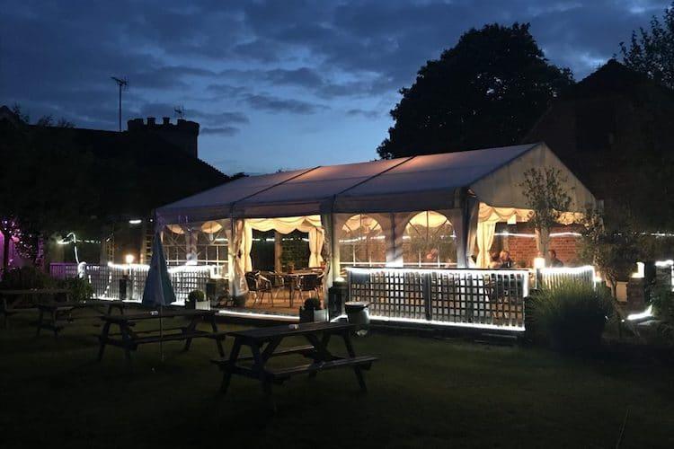 Summer evenings in the New Inn Hurstpierpoint
